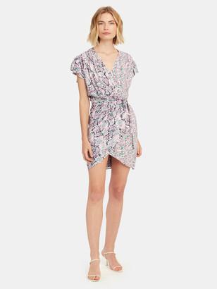 IRO Manza Mini Wrap Dress