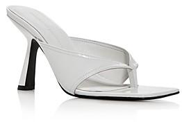 Sigerson Morrison Women's Kaliska High-Heel Thong Sandals