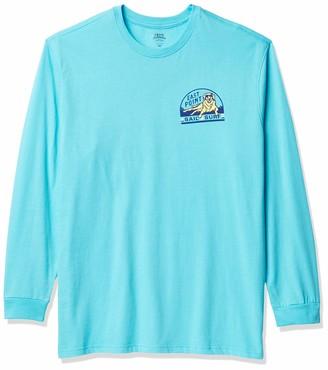 Izod Men's Big & Tall Tall Saltwater Long Sleeve Graphic T-Shirt