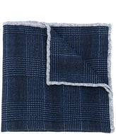 Eleventy tweed knit pocket square