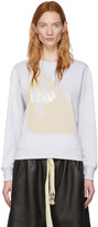 Chloé Grey Femininity Sweatshirt