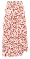 Isabel Marant Grifol printed stretch-silk skirt