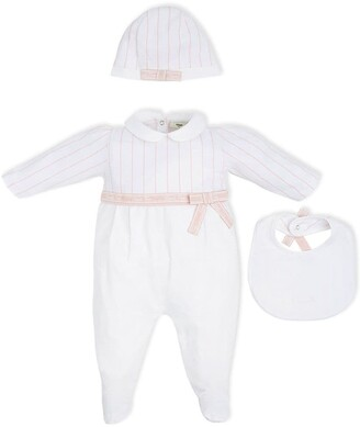 Fendi Kids Three-Piece Babygrow Set