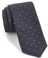 Ted Baker Men's Dot Silk & Wool Skinny Tie