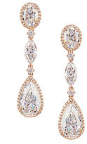 Nadri Cubic Zirconia Oval & Teardrop Earrings