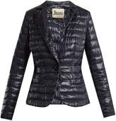 Herno Notch-lapel quilted down blazer