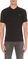 Armani Jeans cotton-jersey polo shirt