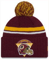 New Era Washington Redskins Diamond Stacker Knit Hat