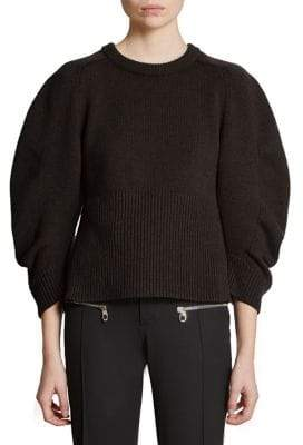 Chloé Iconic Cashmere Puff Sleeve Sweater