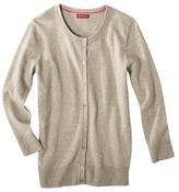 Merona Women's Crewneck Long Sleeve Cardigan Sweater - Assorted Colors