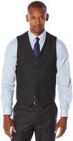 Perry Ellis Slim Fit Heather Texture Suit Vest