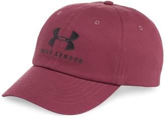 Under Armour Logo Cotton Baseball Cap
