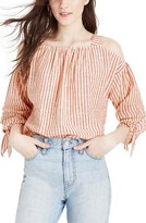 Madewell Women's Stripe Cold Shoulder Top