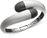 Effy Balissima by Black Diamond Wrap Bangle (1-1/2 ct. t.w.) in Sterling Silver