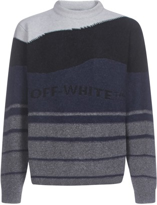 Off-White Striped Logo Sweater
