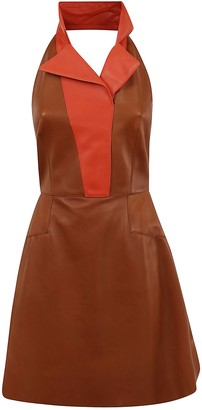 Alexander McQueen Lth Mini Dress