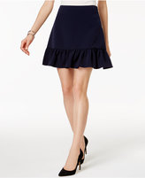 Tommy Hilfiger Ruffled Fit & Flare Skirt