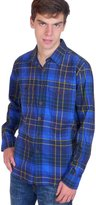 Squish Mens Long Sleeve Cotton Flannel Shirt