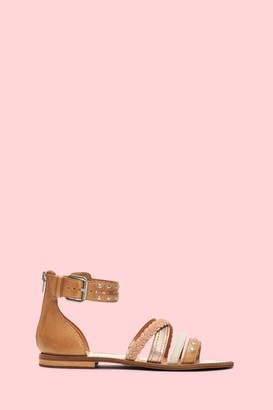 The Frye Company Evie Mixed Strap Stud Sandal