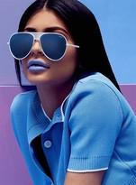 Quay Iconic Sunglasses White/Silver