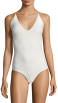 Mikoh Las Palmas Fuller Coverage Cross Back One Piece
