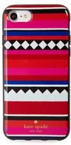 Kate Spade Geo Stripe Iphone 7/8 & 7/8 Plus Case - Red