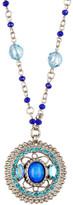 Sorrelli Beaded Chain Swarovski Crystal Pendant Necklace