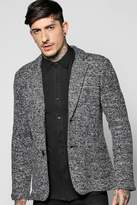 Boohoo Knitted Slim Fit Blazer