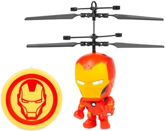 Iron Man World Tech Toys Marvel 3.5 Inch Flying Figure IR UFO Big Head Helicopter