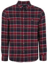 George Long Sleeve Brushed Check Shirt