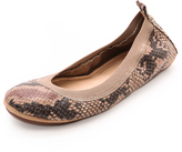 Yosi Samra Samara Printed Snake Flats