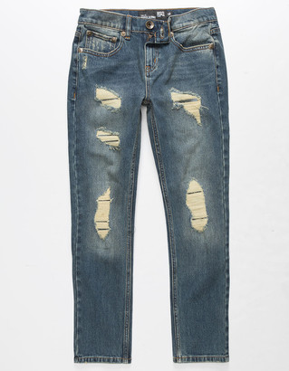 RSQ Tokyo Super Skinny Boys Ripped Jeans