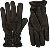 Barneys New York Men's Grained Deerskin Gloves