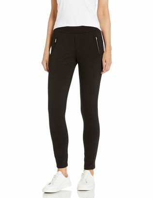 Cupcakes And Cashmere Women's Roosevelt Ponte Legging with Zipper Pockets