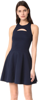 Cushnie et Ochs Monica Sleeveless Flare Dress