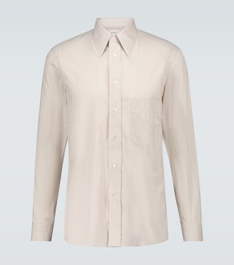 Lemaire Striped long-sleeved shirt