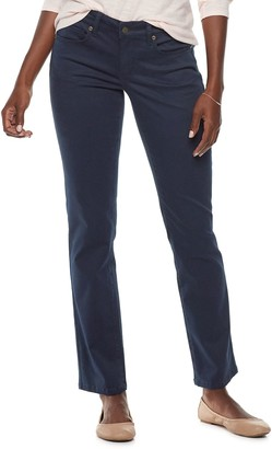 Sonoma Goods For Life Women's Straight-Leg Sateen Pants