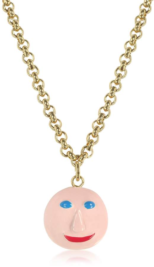 Christopher Kane Face Charm Necklace