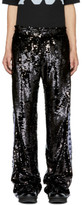 Faith Connexion Black Kappa Edition Sequin Trousers