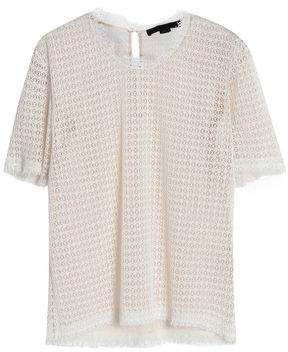 Alexander Wang Frayed Macrame Top