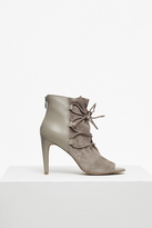 French Connection Quintina Lace Up Heeled Boots