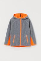 H&M Fleece Track Jacket - Gray