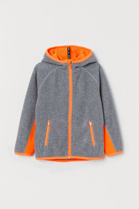 H&M Fleece Track Jacket - Gray