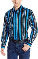 Wrangler Men's Brushpopper Long Sleeve Western Shirt