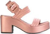 Pedro Garcia Decima sandals - women - Leather/Satin/rubber - 37