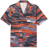 Folk - + Goss Brothers Setting Sun Camp-collar Printed Cotton-twill Shirt