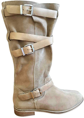 ASOS Camel Leather Boots