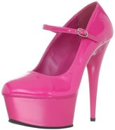 Pleaser USA Women's Delight-687/HP/M Platform Pump