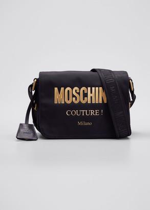 Moschino Men's Logo Crossbody Bag