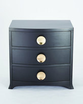 Global Views Button Front 3-Drawer Chest